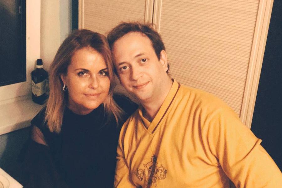 <p>Майк Доренский вместе с супругой. Фото © Соцсети</p>