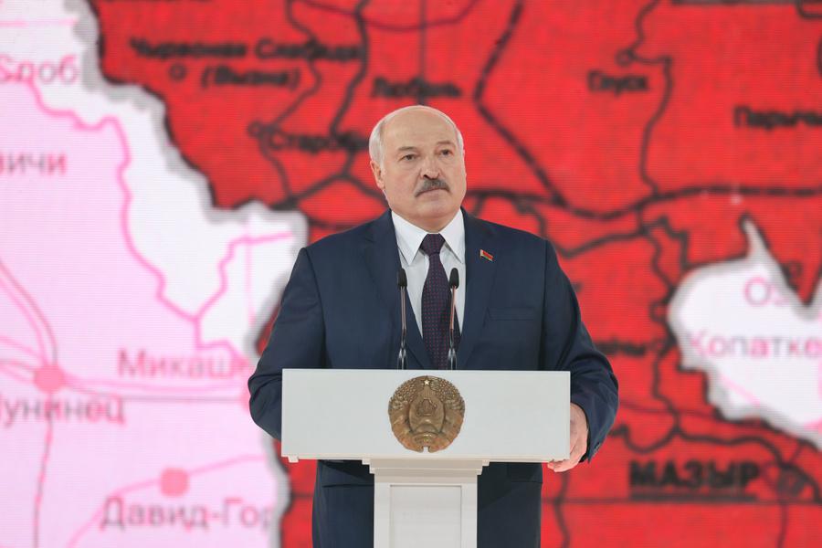 <p>Фото © Сайт президента Белоруссии</p>