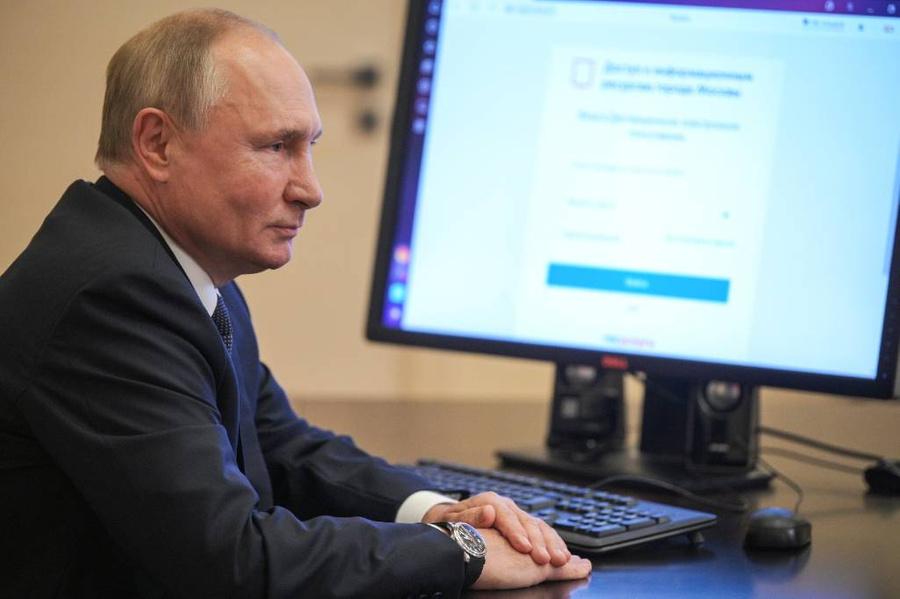 <p>Фото © ТАСС / Алексей Дружинин / Пресс-служба президента</p>