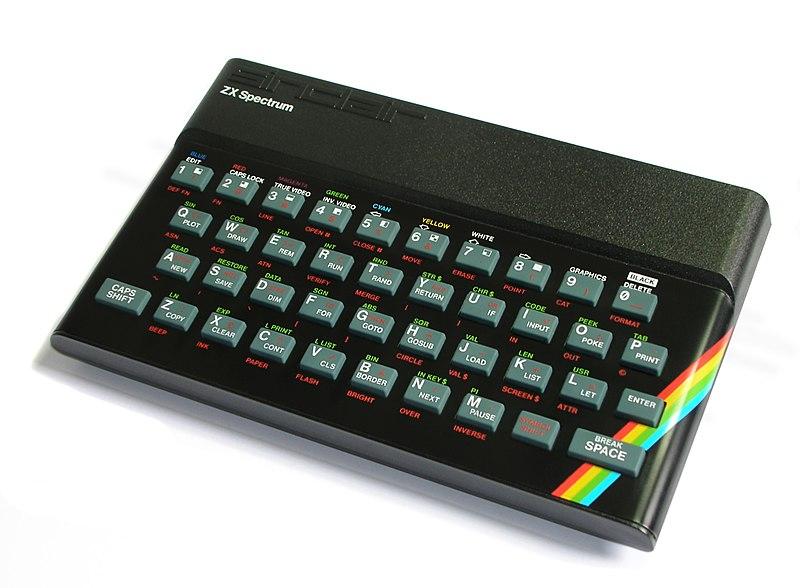ZX Spectrum. Фото © Wikipedia