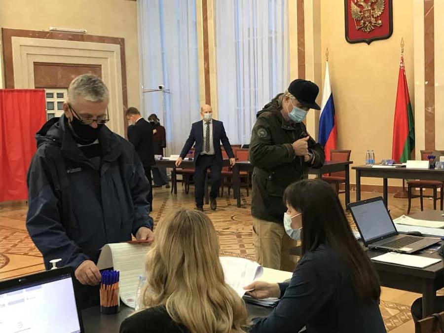 Фото © Facebook.com/ Посольство России в Белорусcи