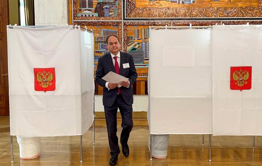 <p>Посол РФ в США Анатолий Антонов. Фото © ТАСС / Дарья Ряжских</p>