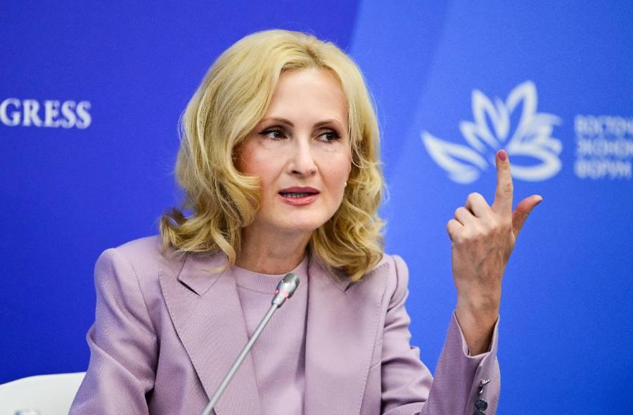 <p>Ирина Яровая. Фото © ТАСС / Дмитрий Ефремов</p>