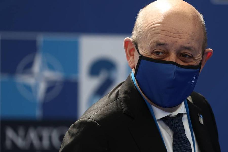 <p>Жан-Ив Ле Дриан. Фото © ТАСС / EPA</p>
