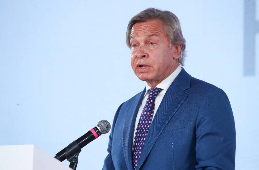 <p>Сенатор Алексей Пушков. Фото © ТАСС / Сергей Карпухин</p>