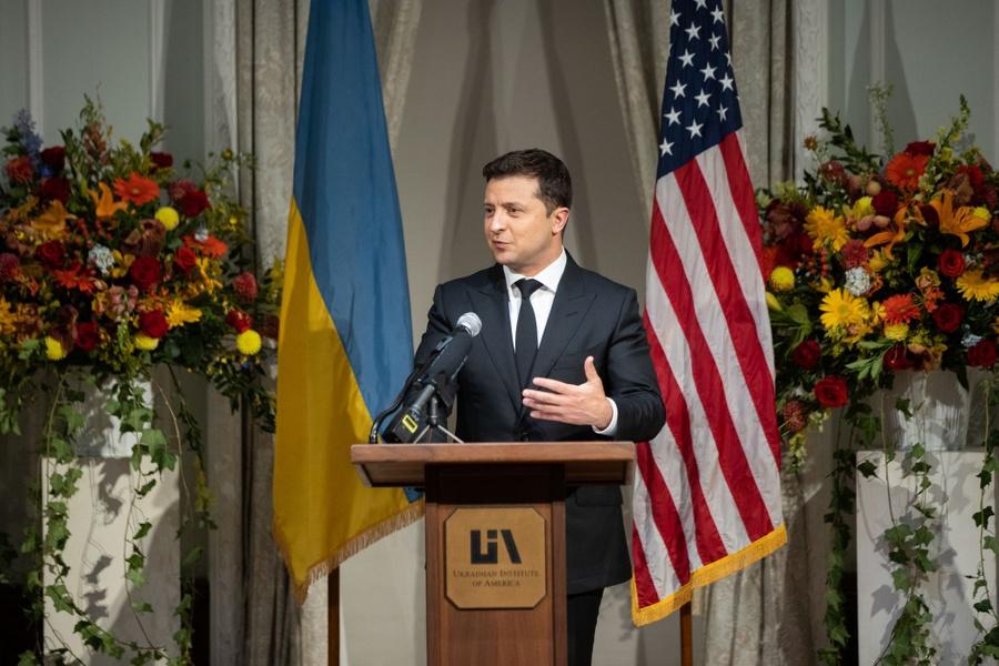 "<p>Президент Украины Владимир Зеленский. Фото © <a href=""https://www.president.gov.ua/storage/j-image-storage/20/59/09/f0a7f99b7fb463222755fad5ed1306d3_1632292985_extra_large.jpeg"" target=""_blank"" rel=""noopener noreferrer"">president.gov.ua</a></p>"