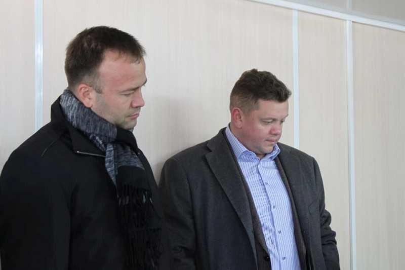 Справа — Михаил Храмов. Слева — Евгений Кабанов. Фото © Facebook
