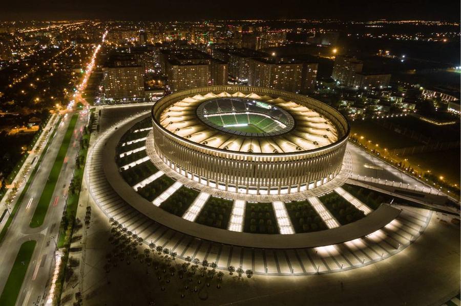 """Стадион ФК """"Краснодар"""". Фото ©LIFE / Виталий Тимкив"""