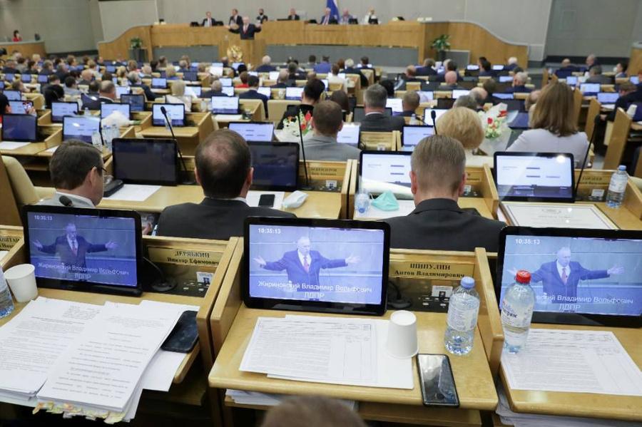 <p>Фото © ТАСС / Пресс-служба Госдумы РФ</p>