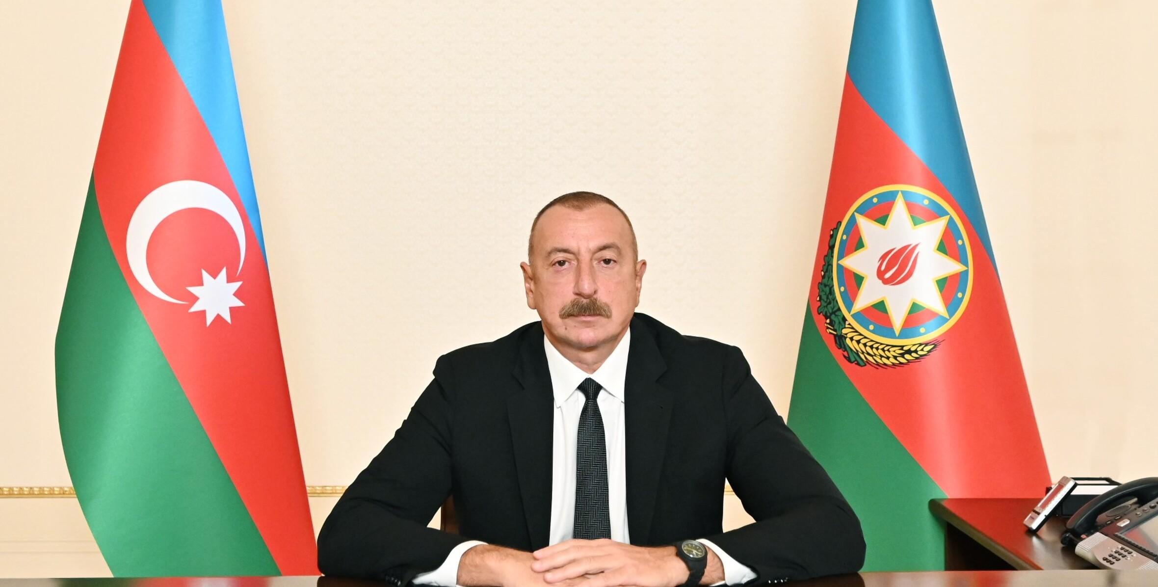 Алиев: Нагорно-карабахский конфликт остался в прошлом