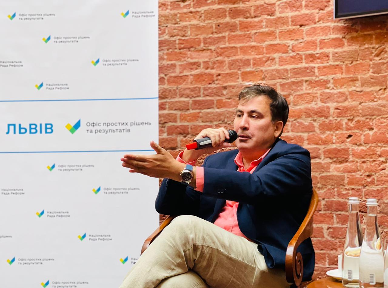 Саакашвили заявил, что вернулся в Грузию спустя 8 лет