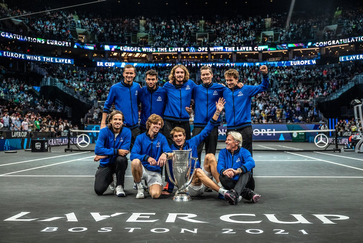 Российские теннисисты Медведев и Рублёв впервые выиграли Кубок Лейвера