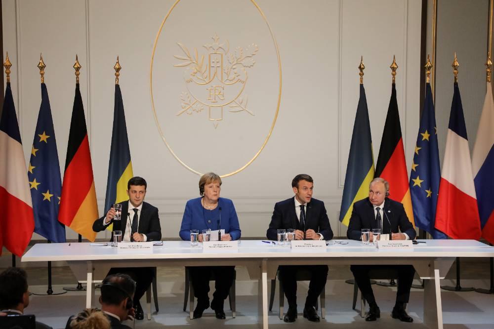 Украина хочет созвать саммит нормандской четвёрки до отставки Меркель