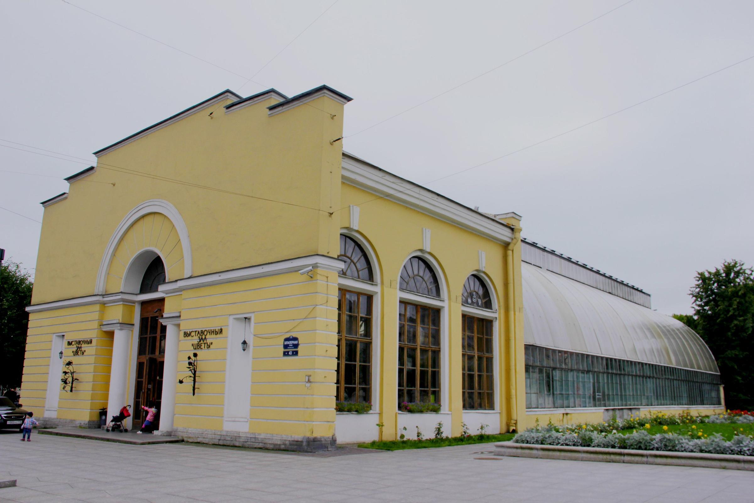 Оранжерея Таврического сада. Фото © VK / Оранжерея Таврического сада / Елизавета Макарова