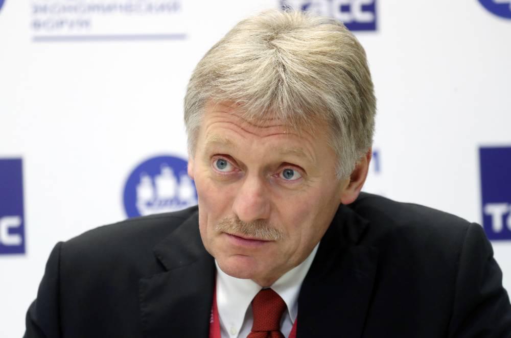 Песков посочувствовал переживаниям школьника, поправившего Путина в беседе о Северной войне