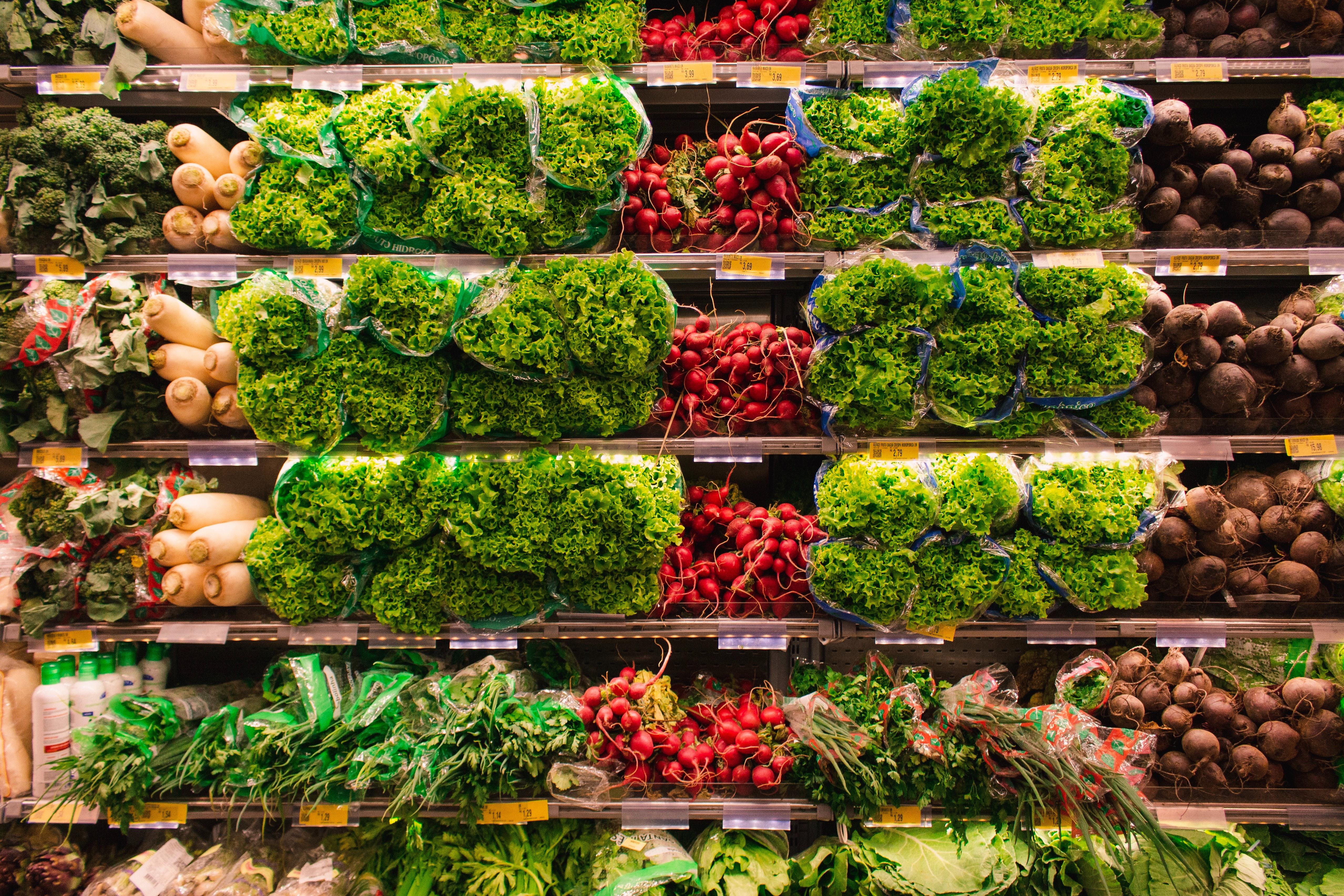 В России снизились цены на капусту, картофель и морковь
