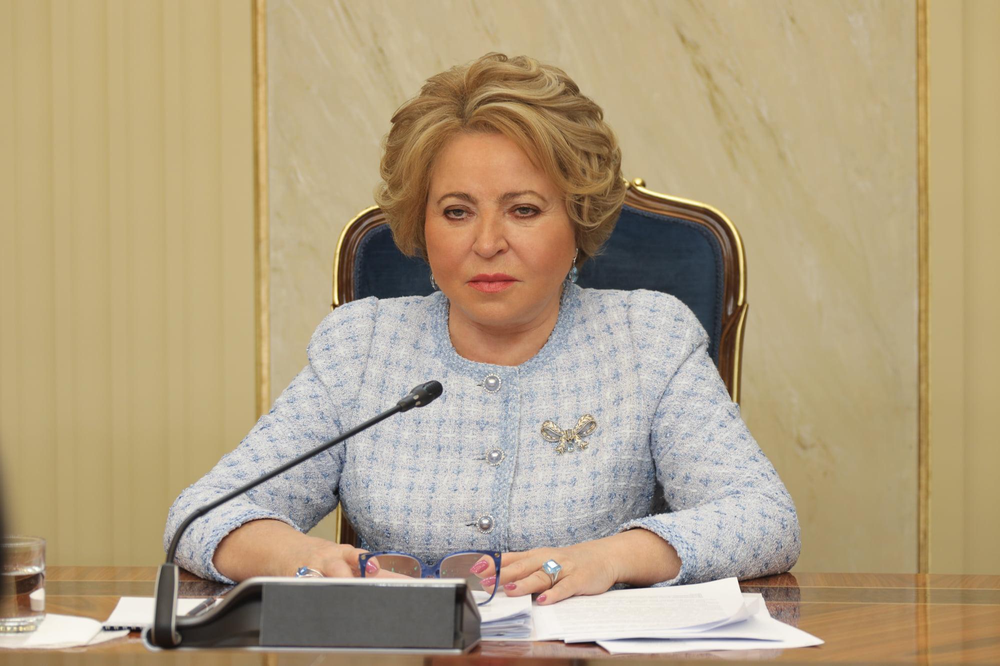 Матвиенко выразила гордость несгибаемой волей защитников блокадного Ленинграда