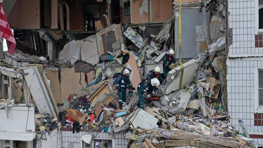 <p>Последствия взрыва в Ногинске. Фото © МЧС России</p>
