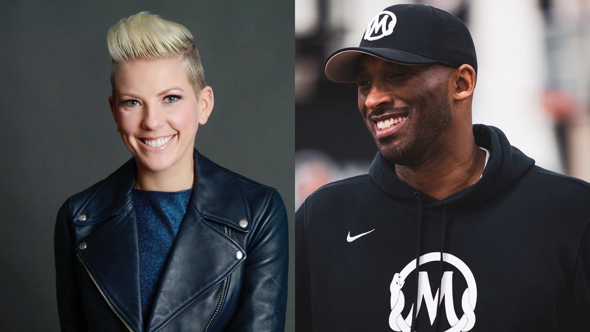 Слева —Элисон Моррис, справа —Коби Брайант. Фото © Instagram / slowmotion00, alisonmorrisnow