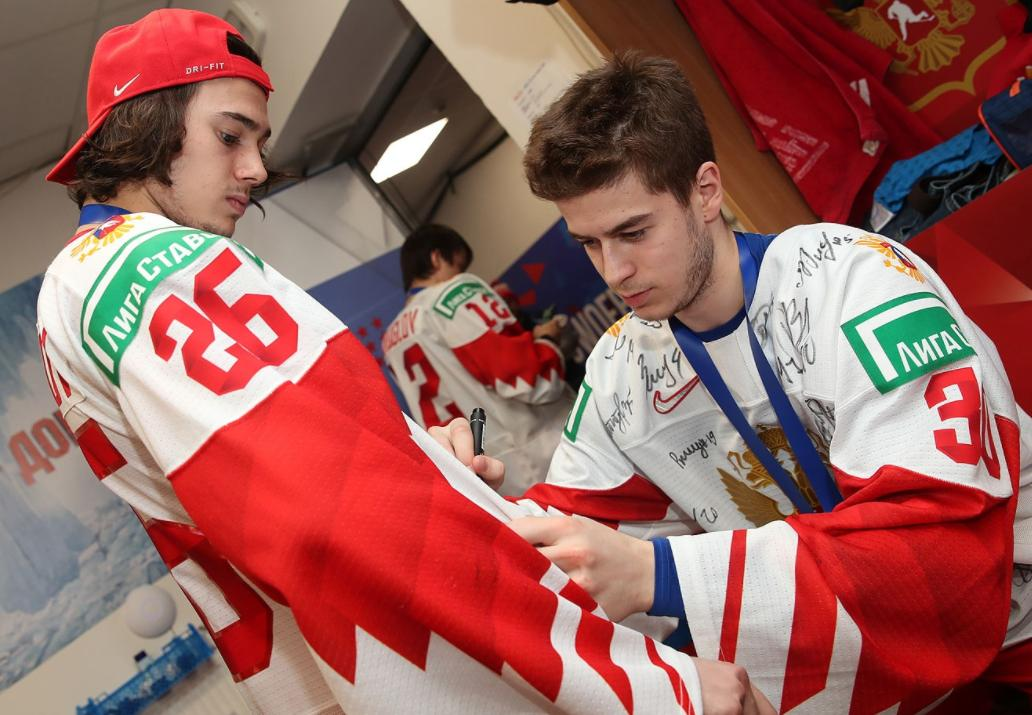 Фото © twitter.com/russiahockey