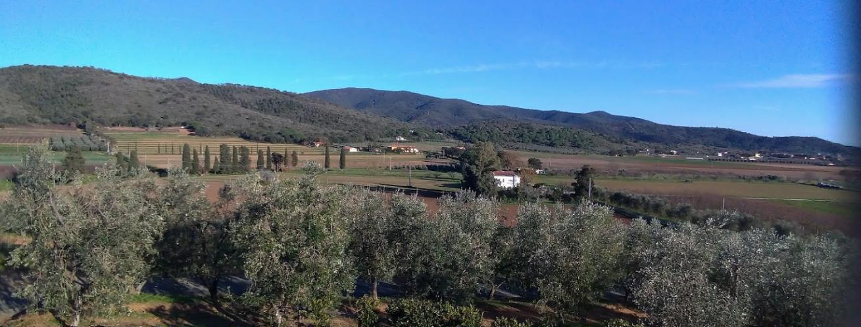 Красоты Тосканы в окрестностях Agriturismo Val di Nappo. Фото © Google Maps