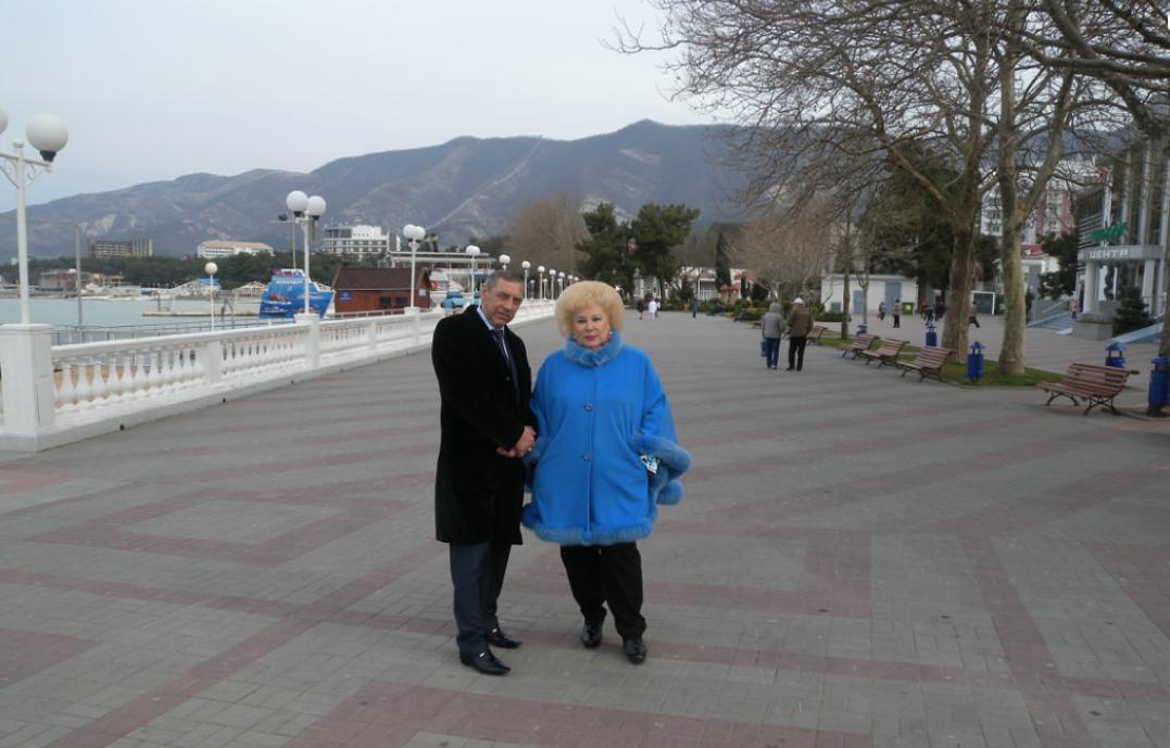 "Муж и жена Свинцовы. Фото © ""Одноклассники"""