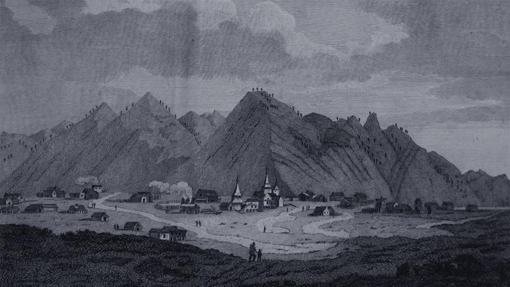 Рисунок экспедиции Биллингса и Сарычева (1785–1794). Фото © Wikipedia