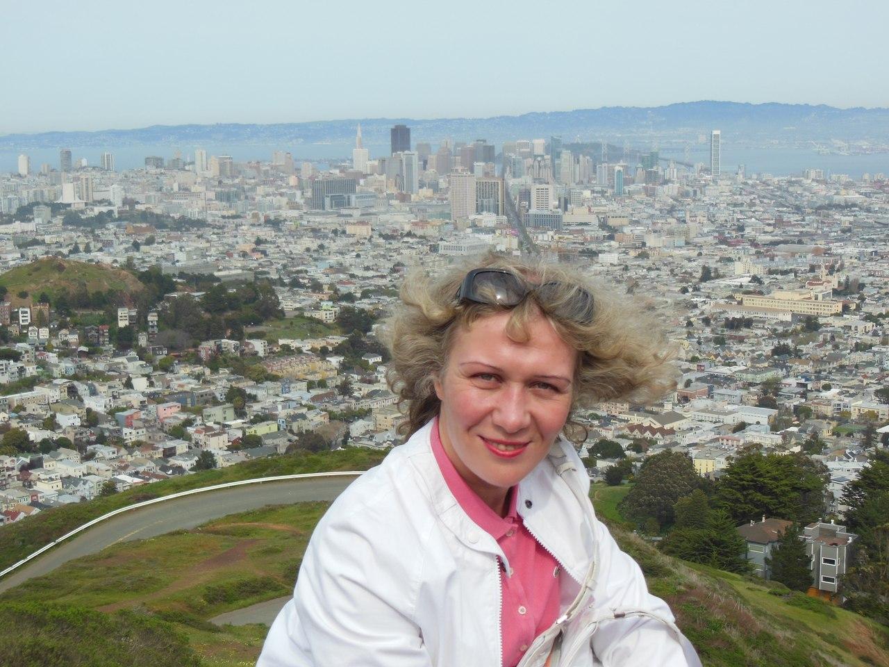 Судья Эльвира Трифонова на отдыхе в Сан-Франциско. Фото ©VK / Elvira Trifonova