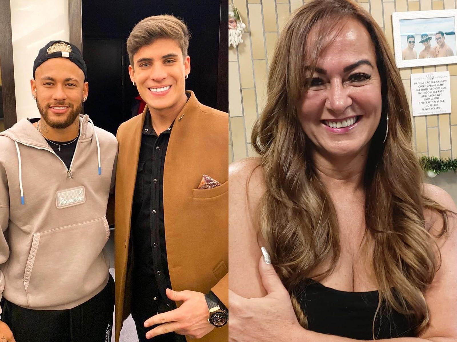 Неймар, Тьяго Рамос и Надин Гонсалес. Фото © Instagram / tiagoramoss, nadine.goncalves