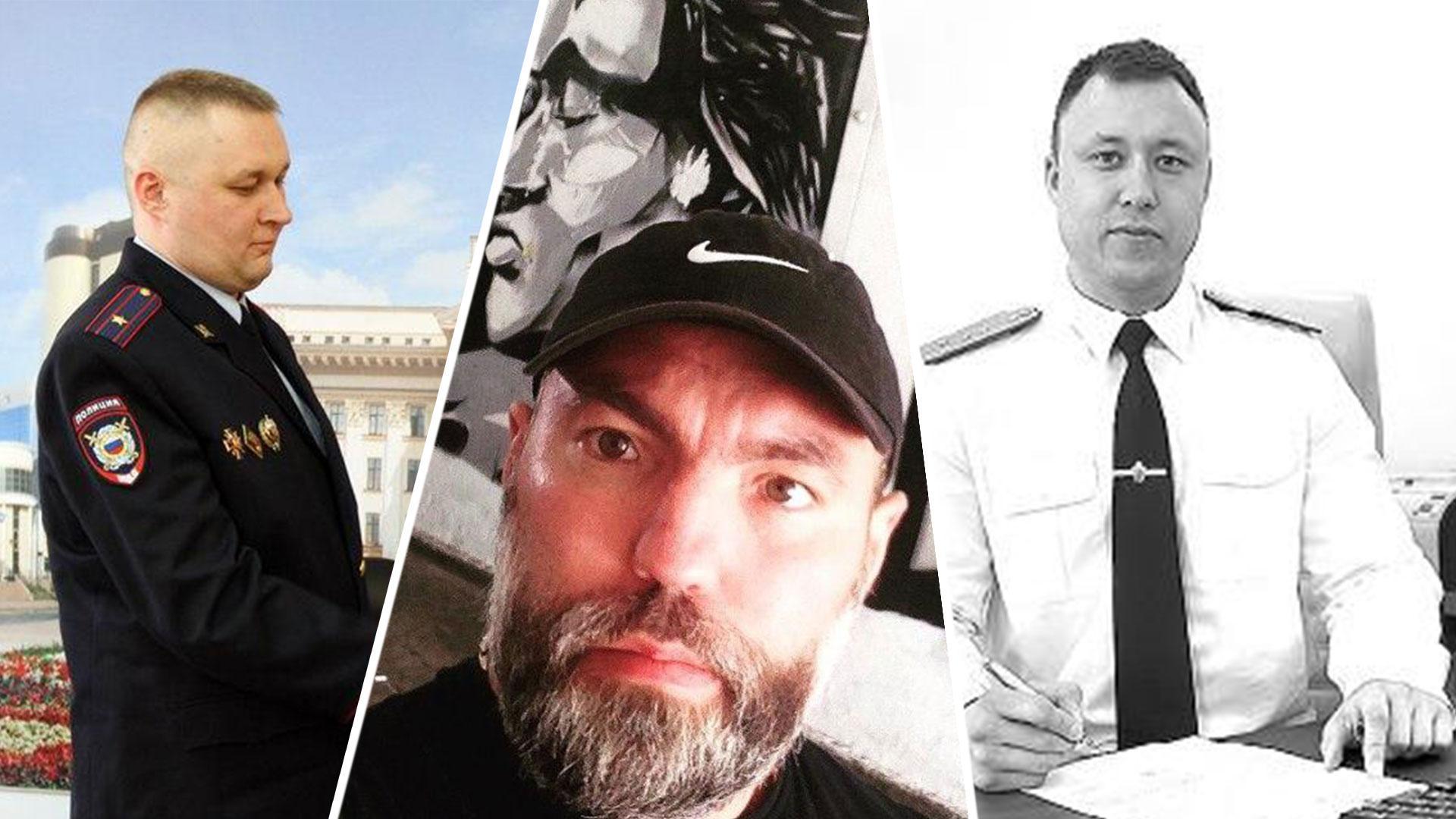 Алексей Ушатый (слева), Денис Девкин (в центре), Рафик Аглиуллин (справа) Коллаж © LIFE
