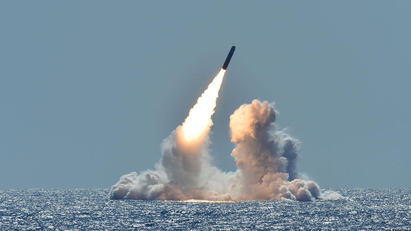 Trident II D-5. Фото © US Strategic Command