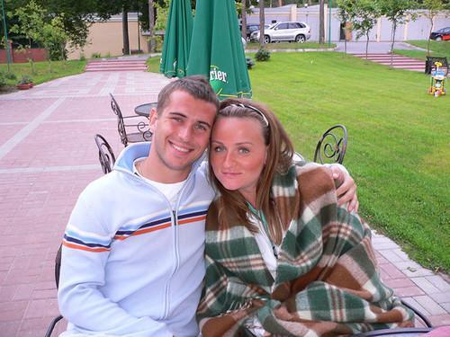 Александр Кержаков с первой женой Марией Головой. Фото © ok.ru