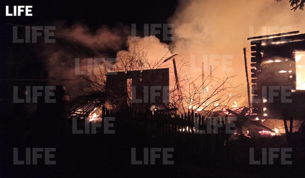 Семь человек погибли напожаре вПензенской области