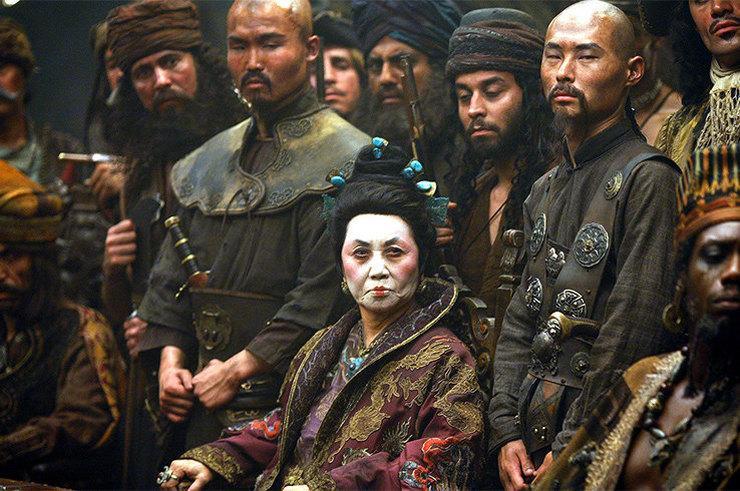 """Госпожа Чжэн стала прототипом одного из пиратских главарей в фильме """"Пираты Карибского моря"""". Кадр из фильма """"Пираты Карибского моря"""""""