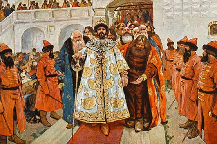 Восхождение на трон Бориса Годунова. Фото © Public Domain