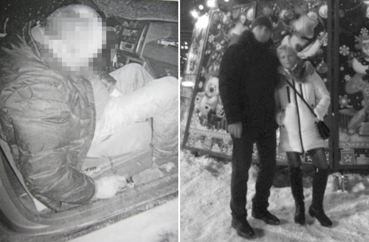 Из материалов дела — слева убитый Асатрян, справа Исаев с Викой. Фото © Readovka.ru
