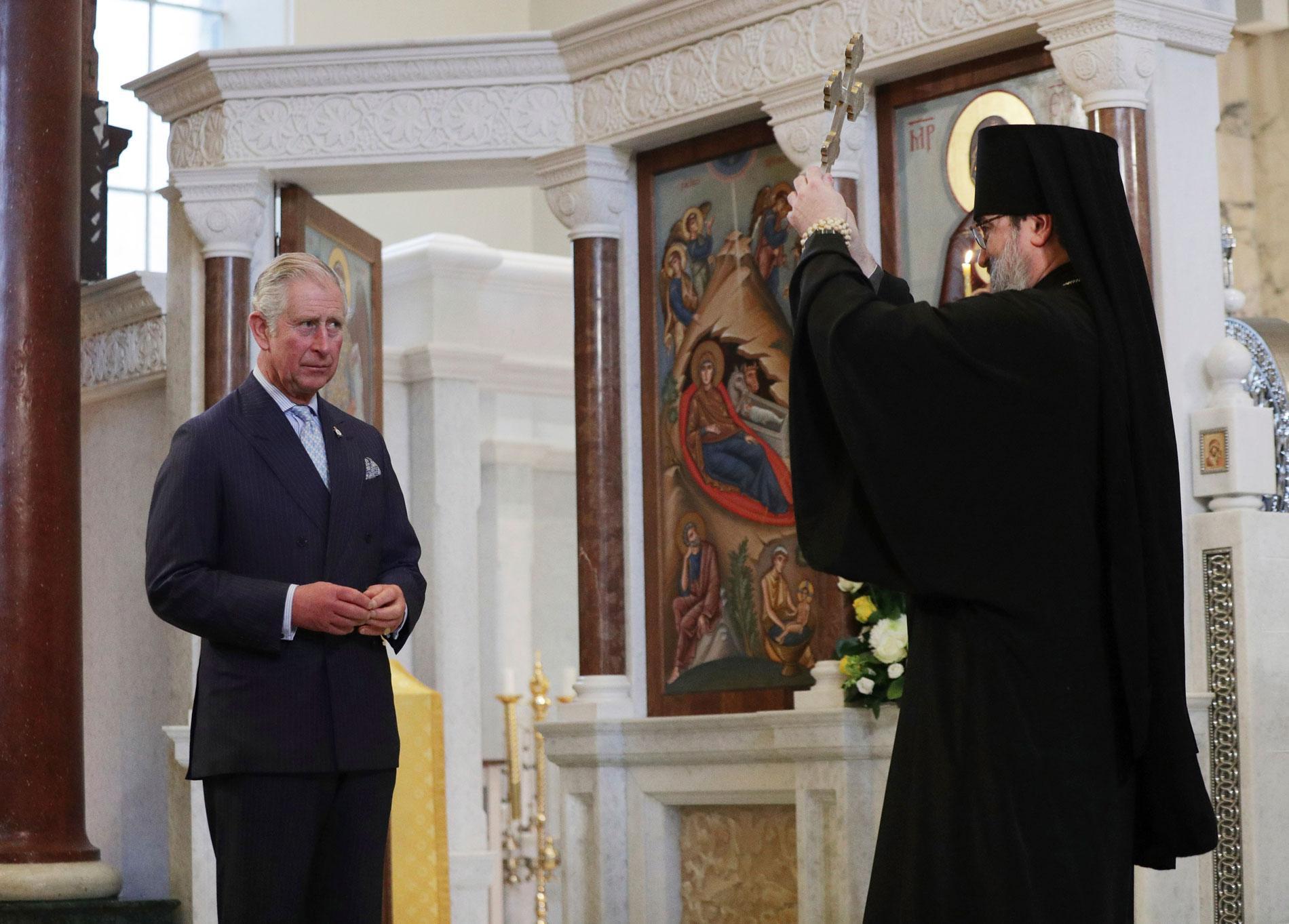 Принц Уэльский Чарльз любит православную веру. Фото ©Yui Mok / Pool Photo via AP