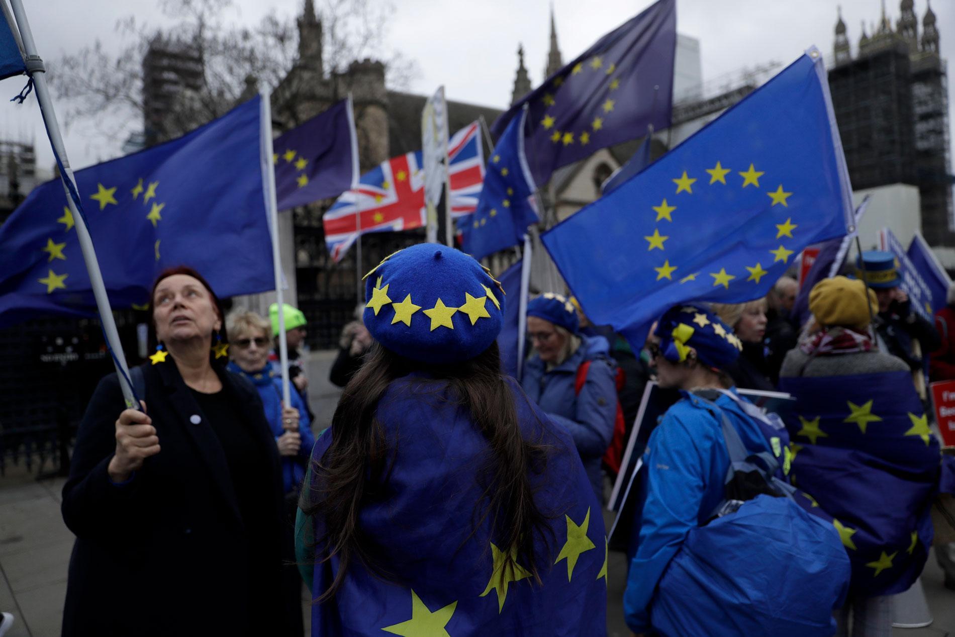 Брексит до сих пор вызывает споры в английском обществе. Фото ©AP Photo / Matt Dunham