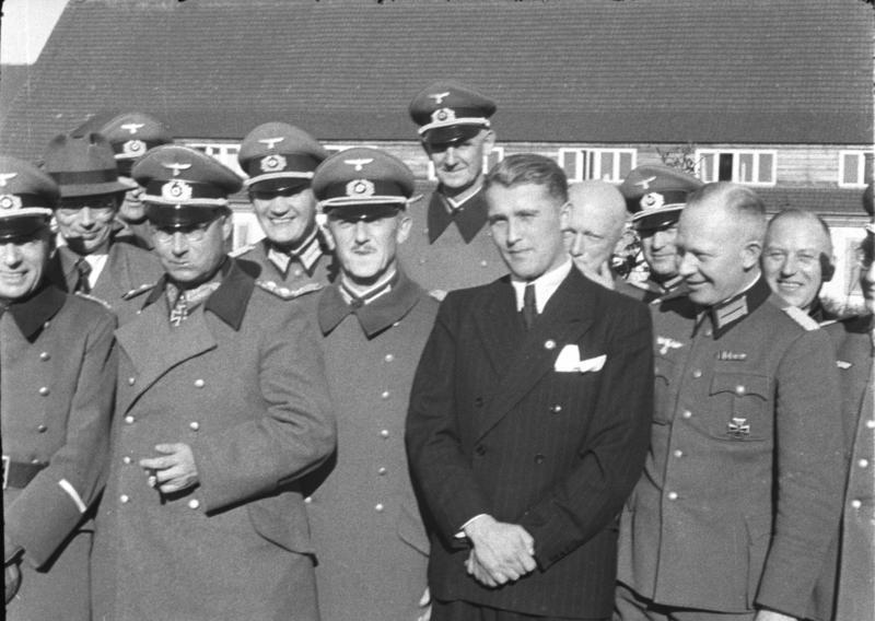 Вернер фон Браун, апрель 1941 года. Фото © Wikipedia