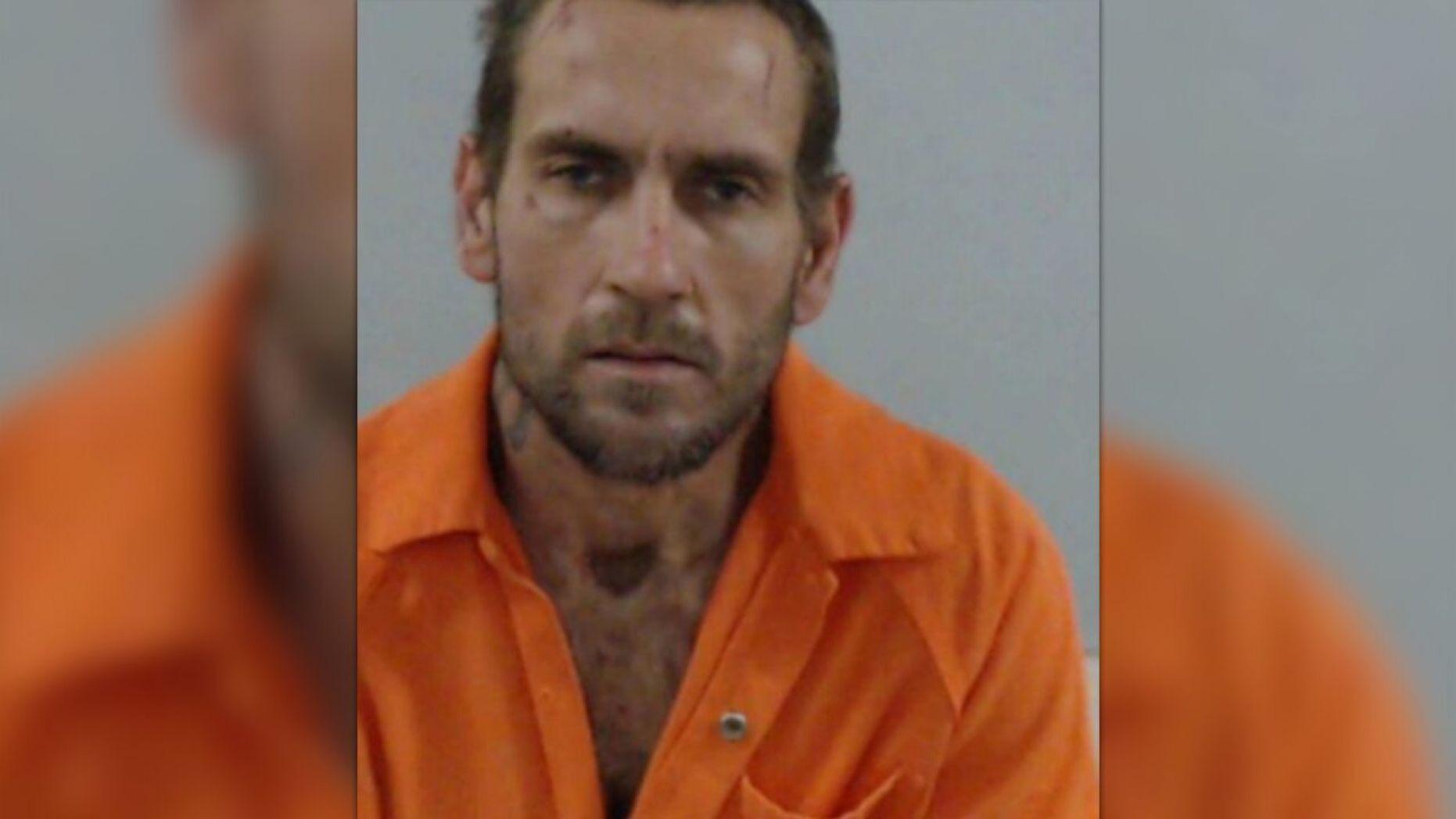 Задержанный мужчина. Фото FOX / Офис шерифа округа Колумбия