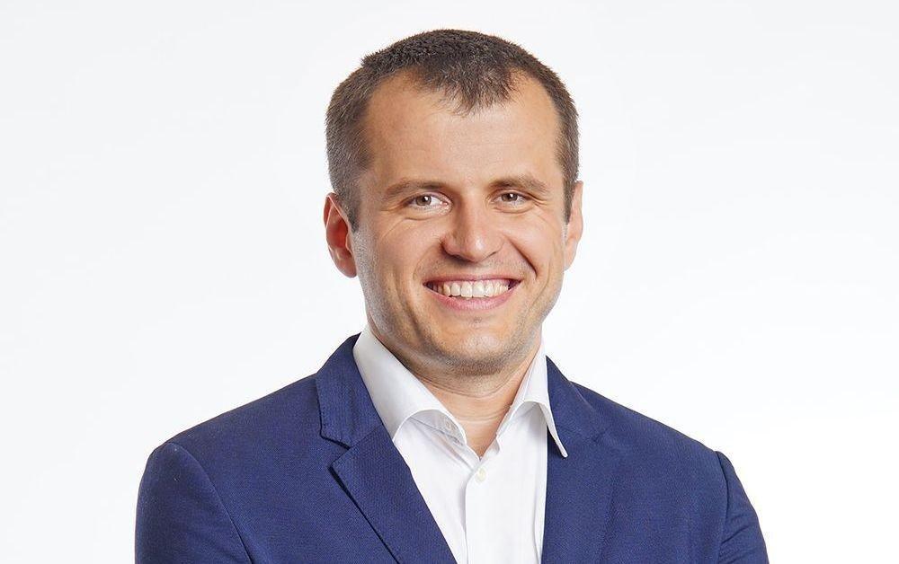 """Сергей Седов — счастливый владелец """"Займера"""". Фото © Twitter / Robocash Group"""