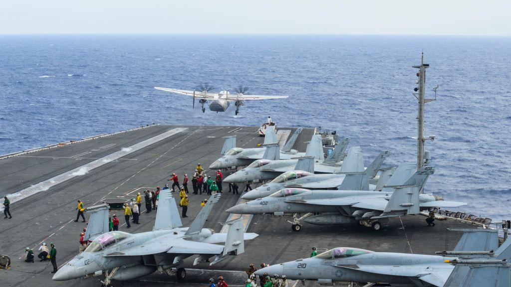 Фото ©Mass Communication Specialist 3rd Class Eduardo Otero / U.S. Navy via Getty Images