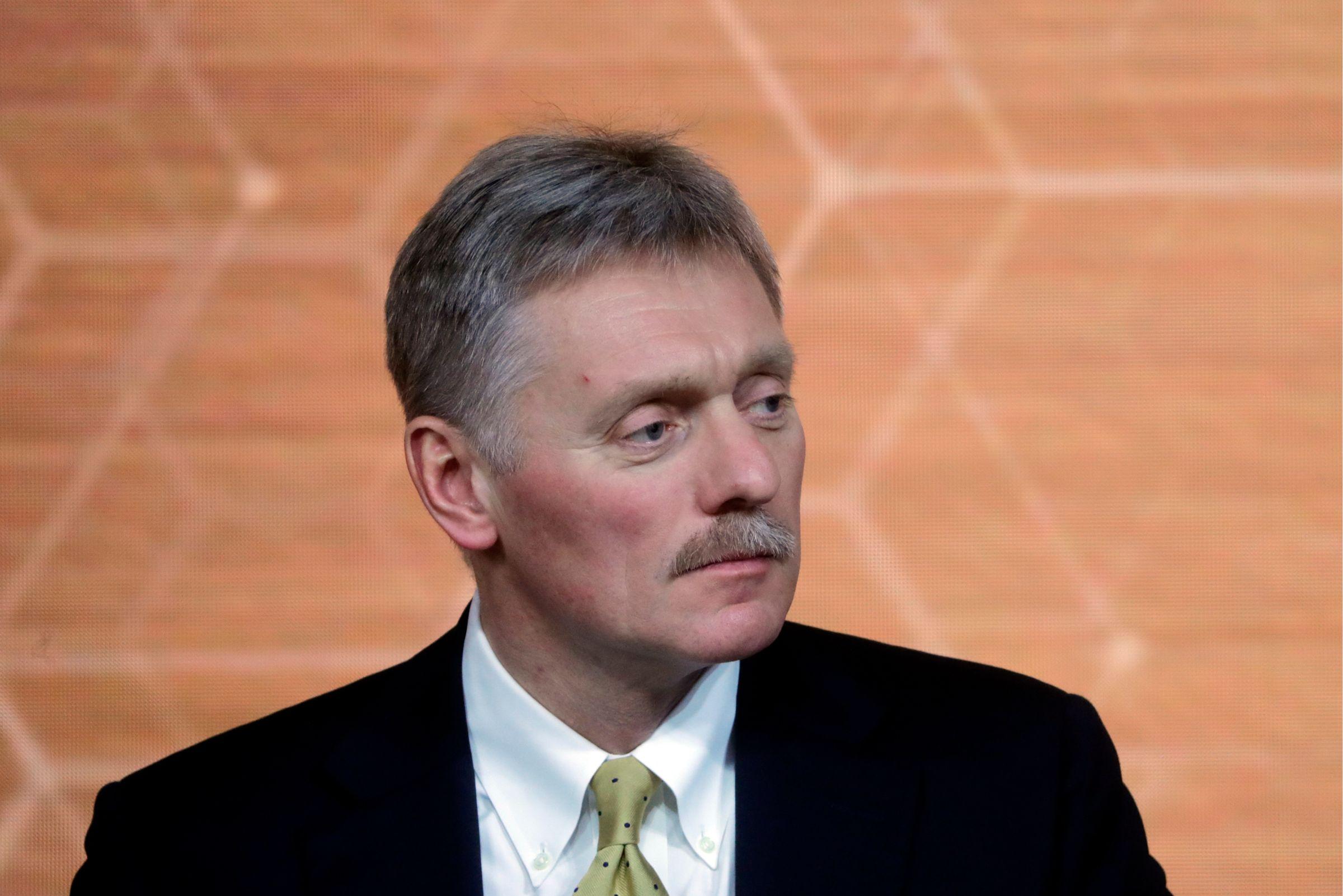 <p>Пресс-секретарь президента России Дмитрий Песков. Фото © ТАСС / Михаил Метцель</p>