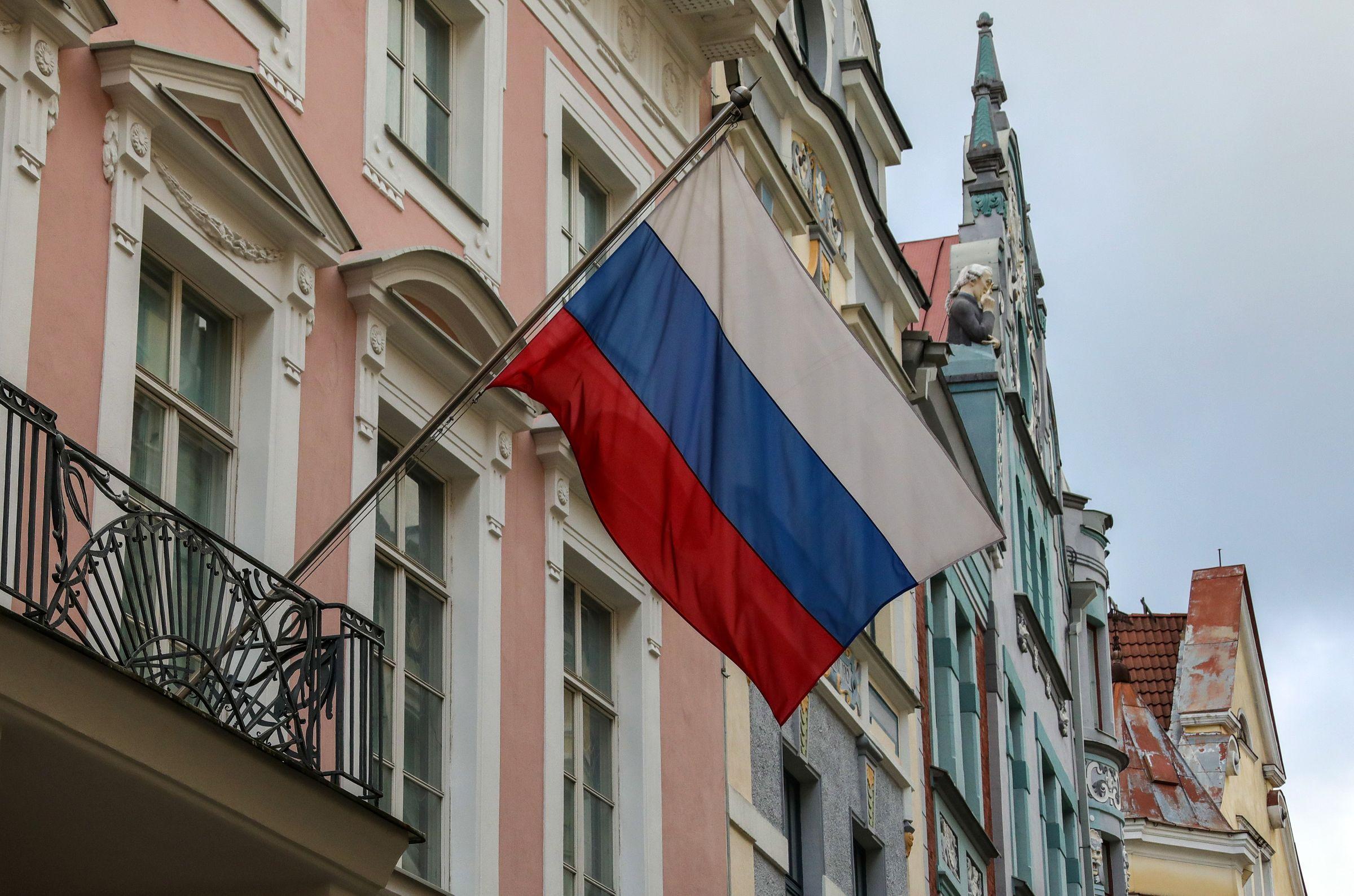 <p>Посольство России в Эстонии. Фото © ТАСС / Валерий Шарифулин</p>