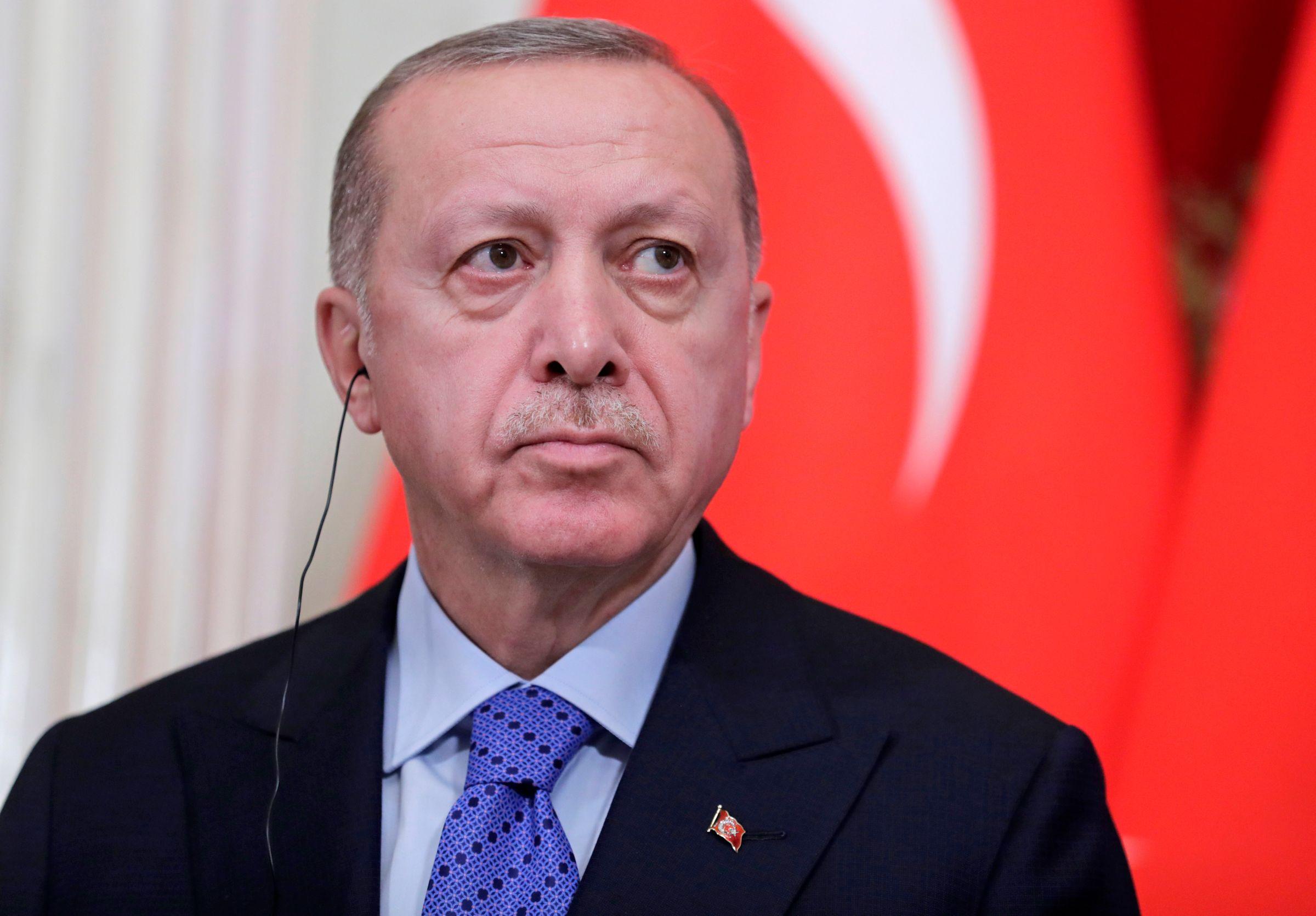 <p>Президент Турции Реджеп Тайип Эрдоган. Фото © ТАСС / Метцель Михаил</p>