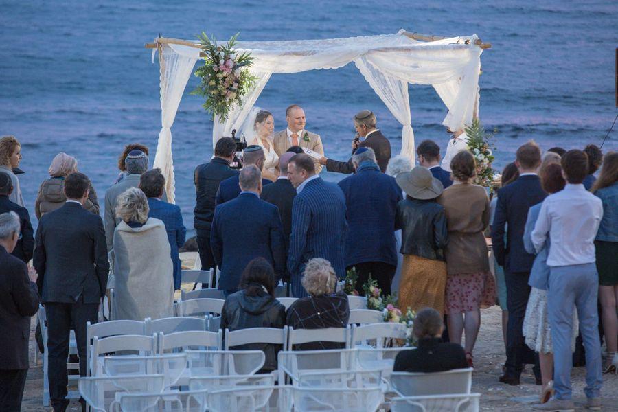 Свадьба Нелли Моргульчик и брата Дунаева в Израиле. Фото © Facebook / Nelli Morgulchik