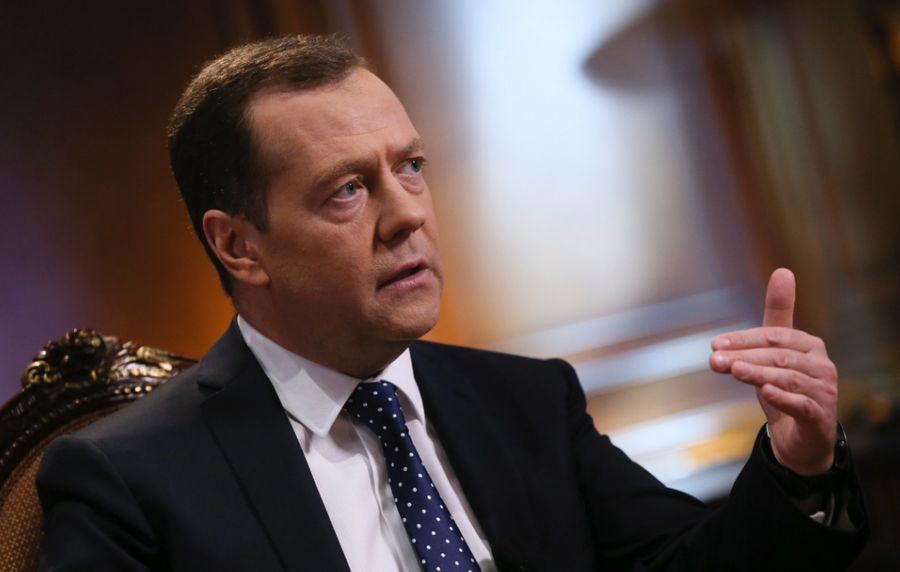 "<p>Дмитрий Медведев. Фото © <a href=""https://twitter.com/MedvedevRussia/media?lang=ru"" target=""_blank"" rel=""noopener noreferrer"">Twitter / MedvedevRussia</a></p>"