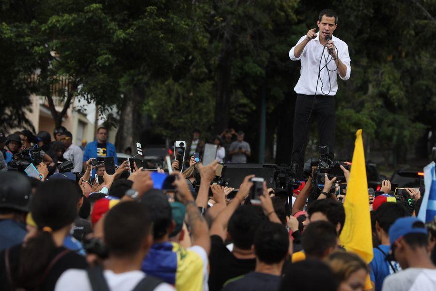 <p>Хуан Гуайдо. Фото © Miguel Gutierrez / EPA / ТАСС</p>