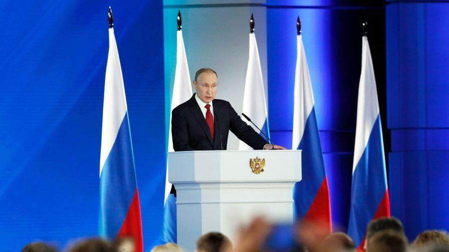 <p>Фото © EPA / Юрий Кочетков / ТАСС</p>