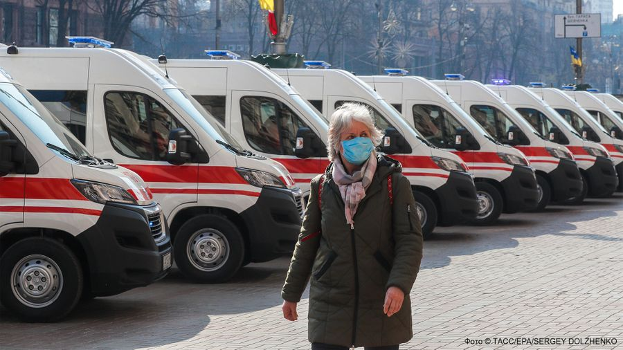 <p>Фото © ТАСС / EPA / SERGEY DOLZHENKO</p>
